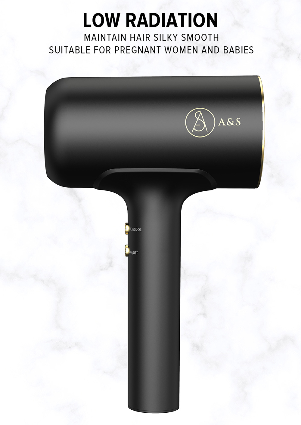 A&S Styler Cordless Hair Dryer